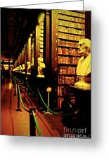 The Old Library Trinity College Dublin Ireland Greeting Card