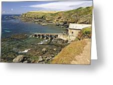 The Old Lizard Lifeboat Station Greeting Card