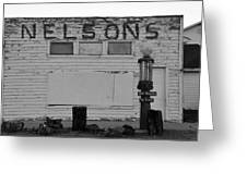 The Old Nelsons Station Greeting Card