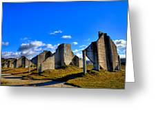 The Old Quarry At #18 - Chambers Bay Golf Course Greeting Card