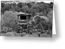 The Old Rodeo Grounds Greeting Card