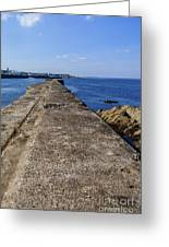 The Old Shipyard Pier Greeting Card