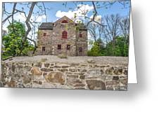 The Old Sone Barn At The Highlands Greeting Card