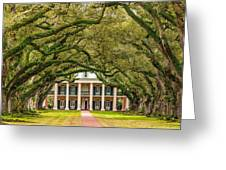 The Old South Version 2 Greeting Card