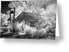 The Old Spring House Greeting Card