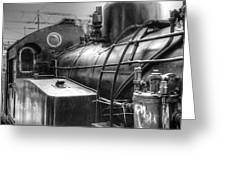 The Old Steam Train Greeting Card