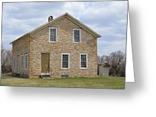 The Old Stone House Greeting Card