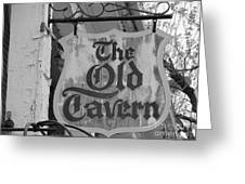 The Old Tavern Greeting Card