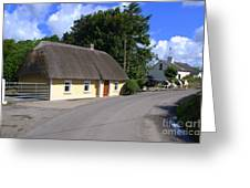 The Old Thatched Cottage Greeting Card