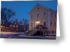 The Old Town House Greeting Card