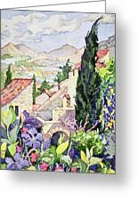 The Old Town Vaison Greeting Card