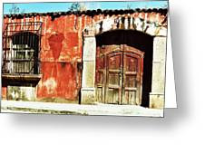 The Old Walls Greeting Card