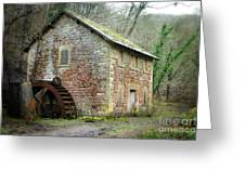The Old Watermill Greeting Card