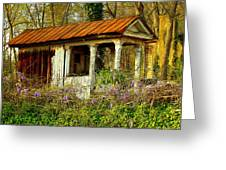 The Old Well House Greeting Card