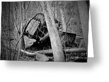 The Old Wreck Greeting Card