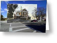 The Oliver School In Bristol Rhode Island Greeting Card