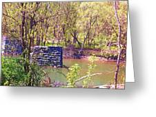 The Once And Former Bridge Greeting Card