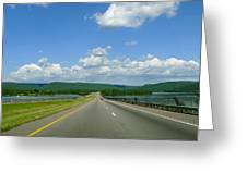 The Open Highway Greeting Card