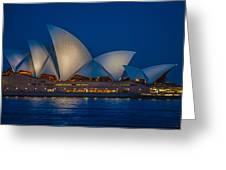 The Opera House Greeting Card