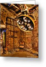 The Operating Room - Eastern State Penitentiary Greeting Card