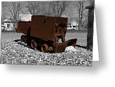The Ore Tender Greeting Card