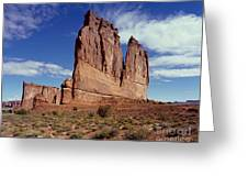 The Organ, Arches National Park, Utah Greeting Card