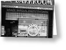 The Original Darkroom Greeting Card