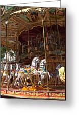 The Original French Carousel Greeting Card