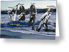 The Other Beach Boys Greeting Card
