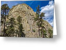 The Other Side Of Devils Tower Greeting Card