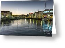 The Outer Basin Greeting Card
