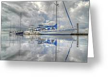 The Outer Pier Greeting Card