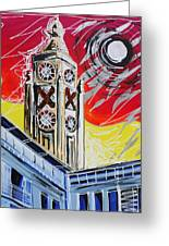 The Oxo Tower Greeting Card
