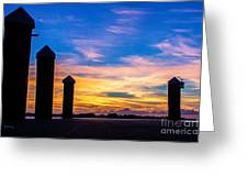 The Painted Sky Greeting Card