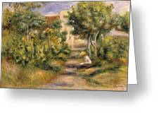 The Painters Garden, Cagnes, C.1908 Greeting Card