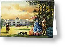 The Palace Of The Tuileries Greeting Card by Andrew Howat