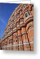 The Palace Of The Winds In Jaipur Greeting Card