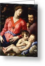 The Panciatichi Holy Family Greeting Card