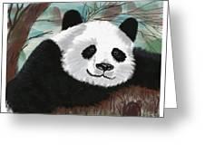 The Panda Greeting Card