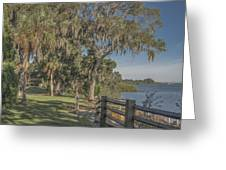 The Park Greeting Card