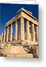 The Parthenon Greeting Card by Brian Jannsen