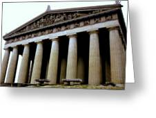 The Parthenon Nashville Tn Greeting Card
