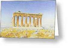 The Parthenon Greeting Card