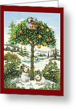 The Partridge In A Pear Tree Greeting Card