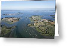 The Passage In The Gulf Of Morbihan Greeting Card