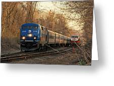 The Passing Siding Greeting Card