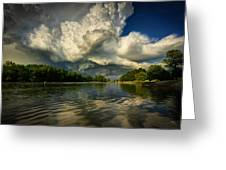 The Passing Storm Greeting Card