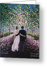 The Path Of Love  Greeting Card