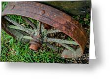 The Patina Of Time Greeting Card