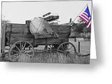 The Patriot Greeting Card by Ann Powell